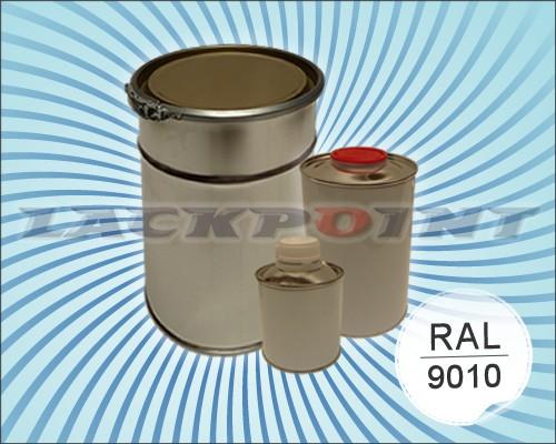 Bootslack RAL 9010 Reinweiß im Set inkl. Härter und Verdünner