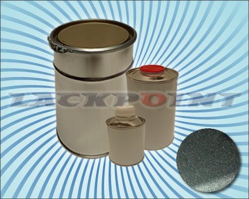 2K Autolack Set Graphit Grau Blau Metallic