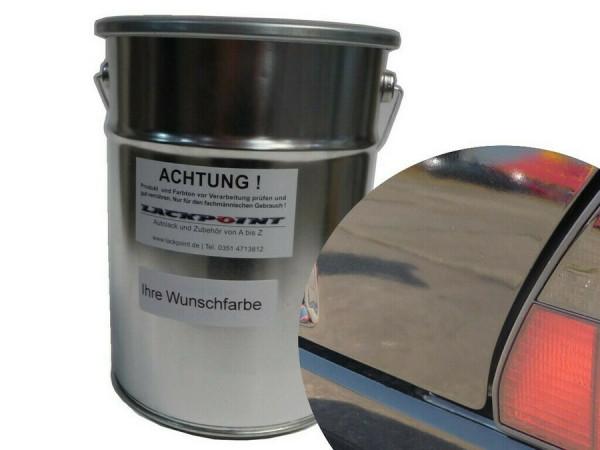 Basislack RAL 9005 Tiefschwarz UNI ( Wasserbasis )