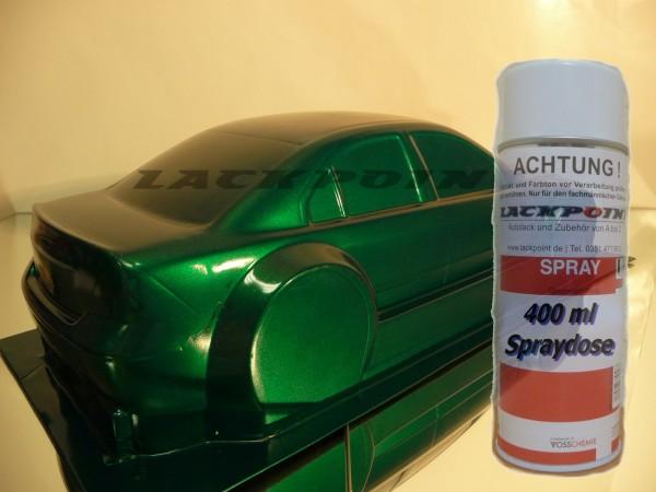 1K Glanz Spraydose 400ml Dark Green Metallic