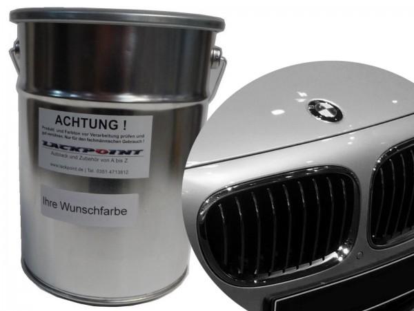 1 Liter Basislack BMW X01 Perlsilber Metallic verschiedene Modelle