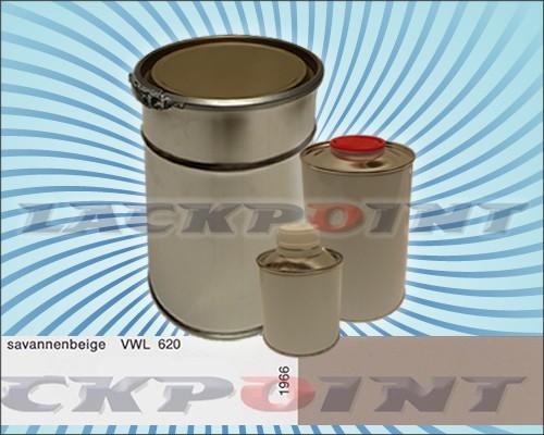 2K Autolack Set für Oldtimer- Auto Union Savannenbeige VWL 620