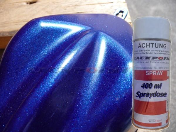 1K Glanz Spraydose 400ml Nacht Blau 2 Metallic