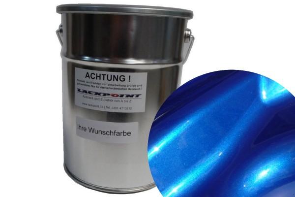 Basislack Candy Blau 2 Autolack Metallic