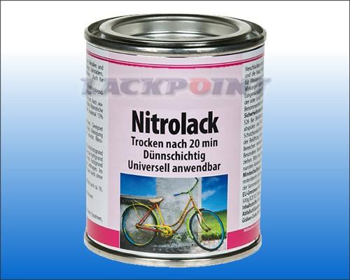 Nitrolack Speziallack WEIßALU