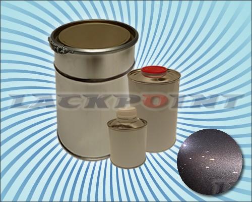 2K Autolack Set Metallic Unilack PLATINUM GRAY