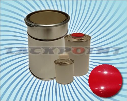 2K Autolack Set Metallic Unilack Rubin Rot