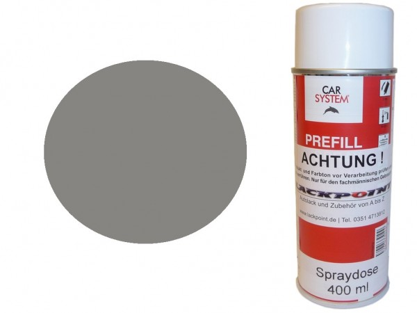 1K Glanz Spraydose 400ml RAL 9007 Graualuminium