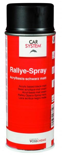 Rallyespray 400ml schwarz Matt