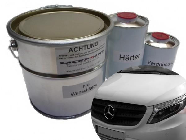 2K Autolack Set Mercedes 5610 Navyblau Vito 447 V