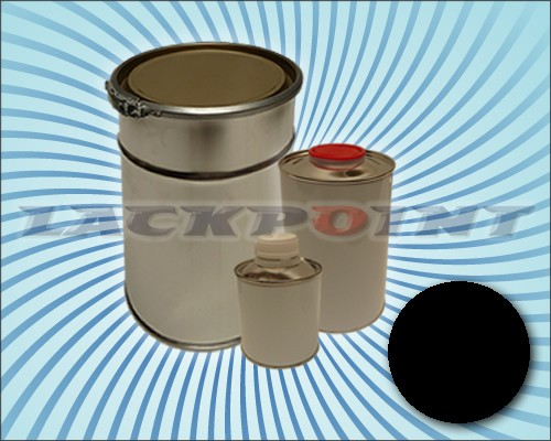 2K Autolack Set DEEP BLACK RAL 9005 Unilack