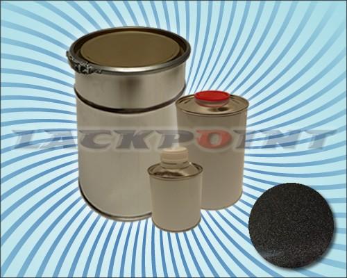 2K Autolack Set Metallic Unilack Brillant Schwarz