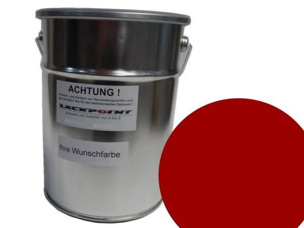 Basislack Porsche M3C Karminrot UNI kein Metallic ( Wasserbasis )