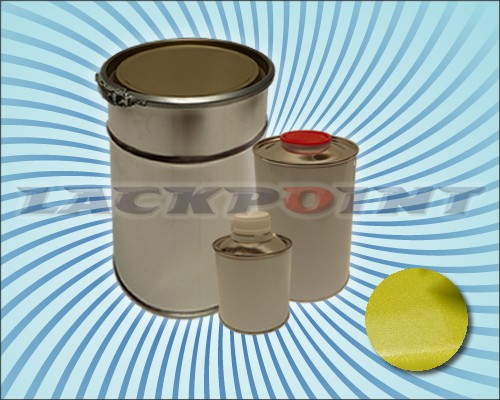 2K Autolack Set Metallic Unilack Lemon Grün Gelb