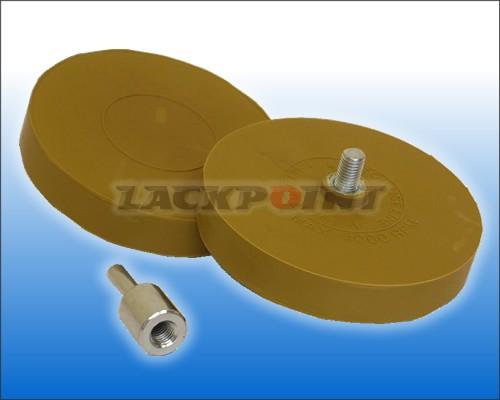 Folienradierer 90mm im Set inkl. 1 Adapter - Tape Off Disc Premium