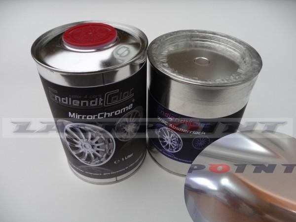 2,0 Liter Set Sparkling Mirror Chrom -Autolack