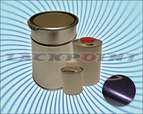 2K Autolack Set Black Violett Metallic