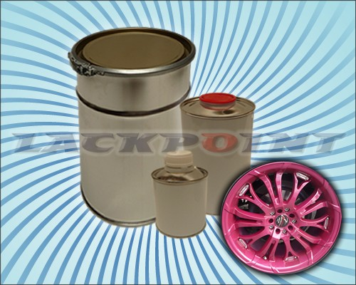 2K Autolack Set Brillant Pink Metallic