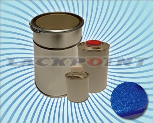 2K Autolack Set Metallic Unilack Nacht Blau