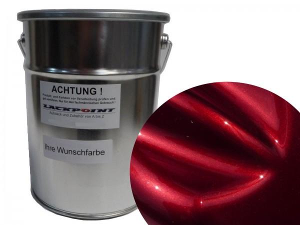 Basislack Brillant Color Rot Tintenlasur Blatt 27 Effektlack