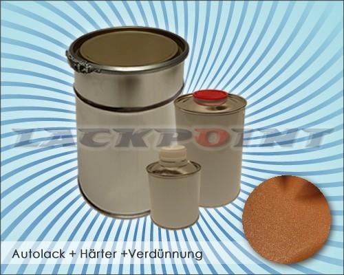 2K Autolack Set Metallic Unilack Schokobraun