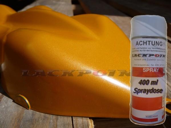 1K Glanz Spraydose 400ml Brillant Orange Metallic
