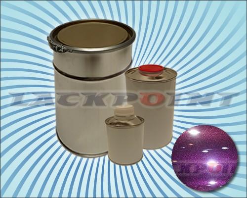 2K Autolack Set Metallic Unilack DARK VIOLETT