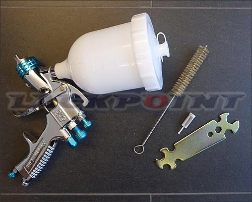 DEVILBISS SLG 620 1,3mm Lackierpistole inkl. Zubehör